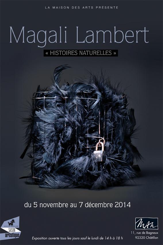 """Affiche de l'exposition """"Histoires Naturelles""""©MagaliLambert"""