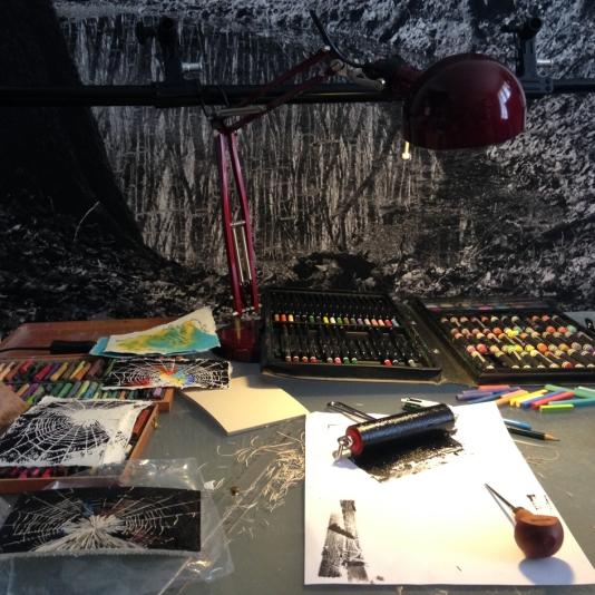 Atelier - Recherches pour une nouvelle série