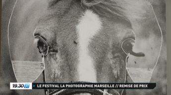 Journal télévisé de TV sud Provence à propos de l'exposition Maison Blanche à Marseille.