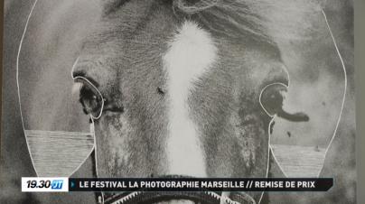 Journal télévisé de TV sud Provence à propos de l'exposition Maison Blanche à Marseille. ©MagaliLambert