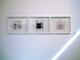 Nus Assis au Carré, installation Institut français de Madrid, avril 2013©MagaliLambert