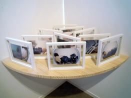 Nus Allongés à la Bulle, installation Institut français de Madrid, avril 2013©MagaliLambert