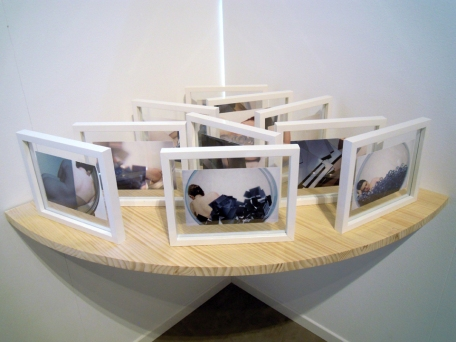 Nus Allongés à la Bulle, installation Intitut français de Madrid, avril 2013