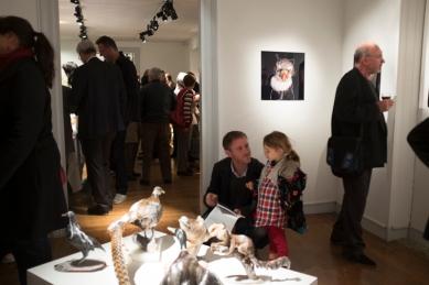 """Vernissage de l'exposition """"Histoires Naturelles"""" - 4 novembre 2014"""