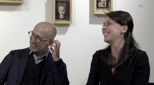 """Lancement du livre """"Venus du jamais mort"""" à la galerie VU' - Michel Poivert - Emmanuelle Lambert"""