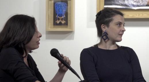 """Lancement du livre """"Venus du jamais mort"""" à la galerie VU' - Caroline Bénichou - Magali Lambert"""