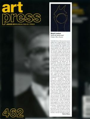 ArtPress-Janvier2019