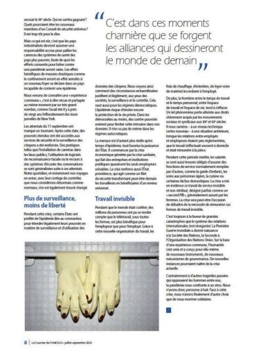 CourrierdeLUnesco©MagaliLambert-AgenceVU